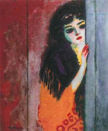 The Curious Girl, Kees van Dongen