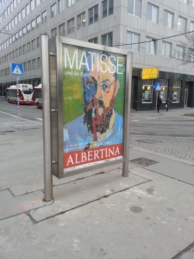 Posters of Albertina Museum, Vienna