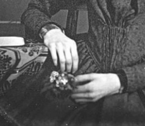 Emily Dickinson's hands