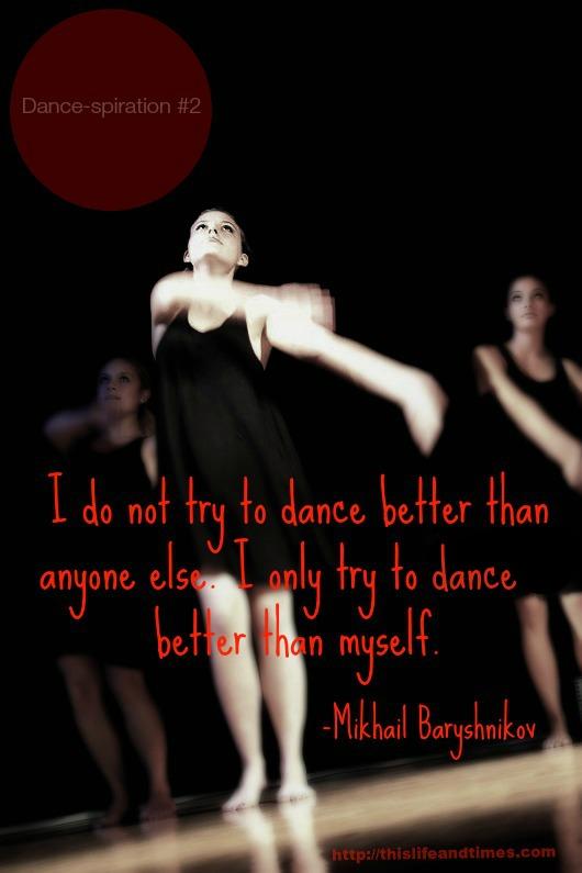 Quote by Baryshnikov
